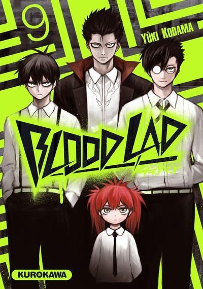 Couverture Blood Lad - Tome 9