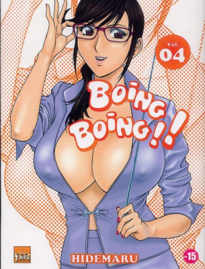 Couverture boing boing tome 4