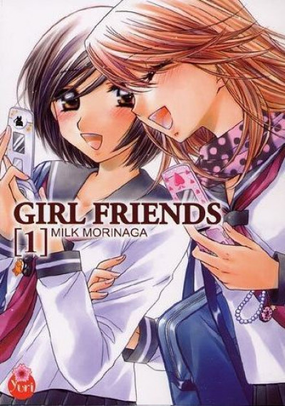 Couverture girl friends tome 1
