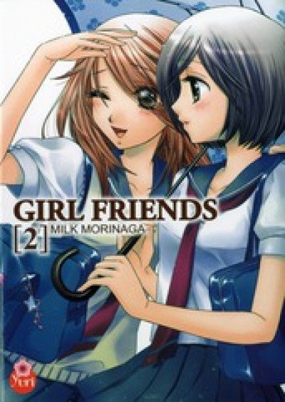 Couverture girl friends tome 2