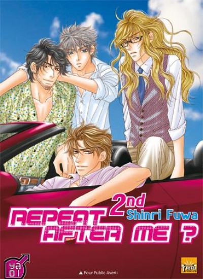 Couverture repeat after me ? tome 2 - 2nd (second)