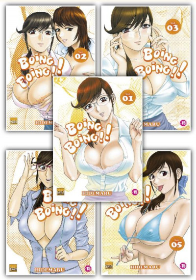 Couverture boing boing - pack tome 1 à tome 5