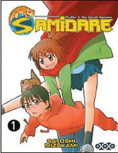 Couverture samidare tome 1 - lucifer and the biscuit hammer