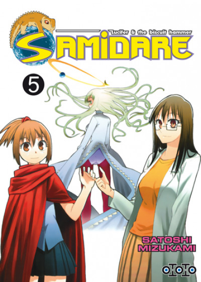 Couverture Samidare tome 5 - lucifer and the biscuit hammer