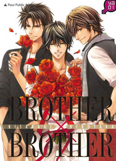 Couverture brother X brother tome 5
