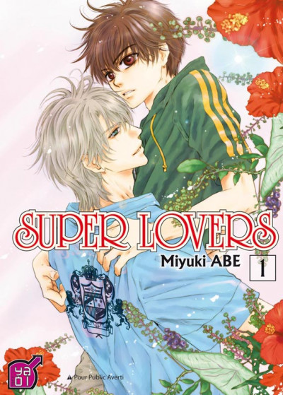 Couverture super lovers tome 1
