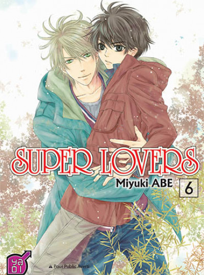 Couverture super lovers tome 6