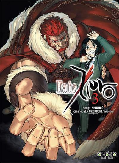 Couverture Fate/zero tome 3