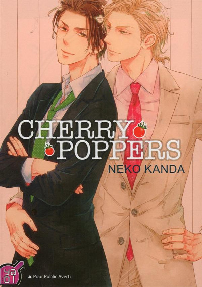 Couverture cherry poppers tome 1