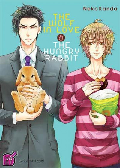 Couverture the wolf in love and the hungry rabbit