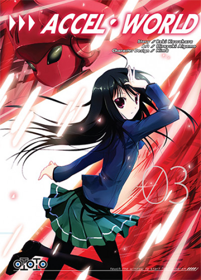 Couverture Accel world tome 3