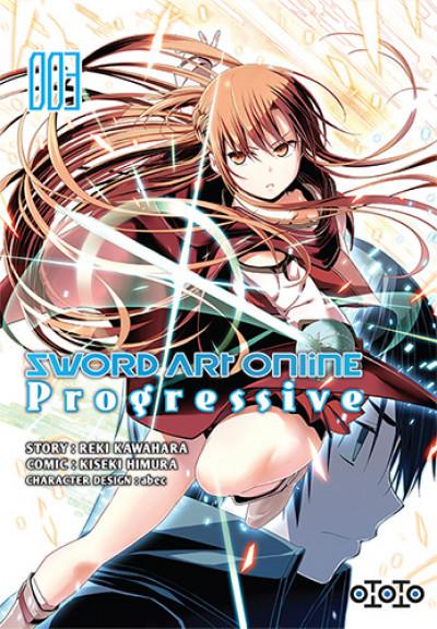 Couverture Sword art online - progressive tome 3