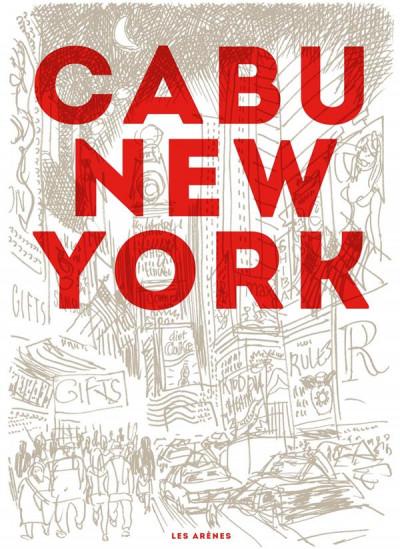 Couverture Cabu à New York