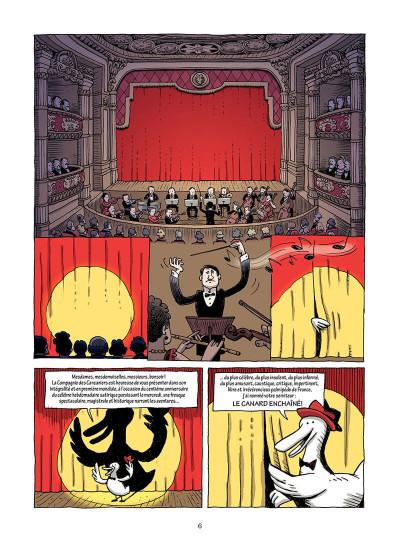 Page 7 L'incroyable histoire du canard enchaîné