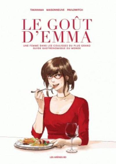 Couverture Le goût d'Emma