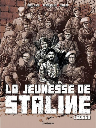 Couverture La jeunesse de Staline tome 1