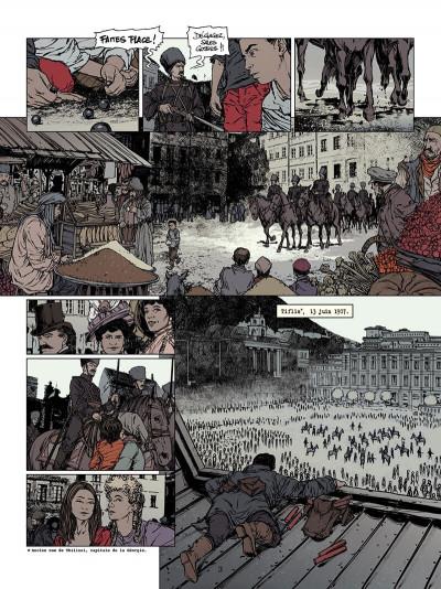 Page 4 La jeunesse de Staline tome 1