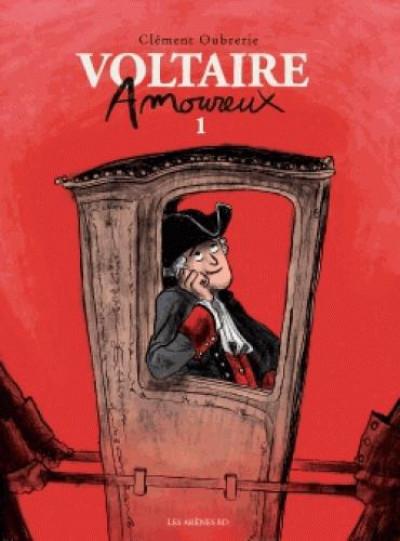 Couverture Voltaire amoureux tome 1