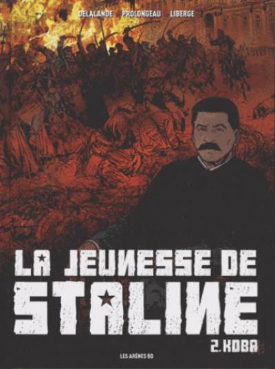 Couverture La jeunesse de Staline tome 2 - Koba