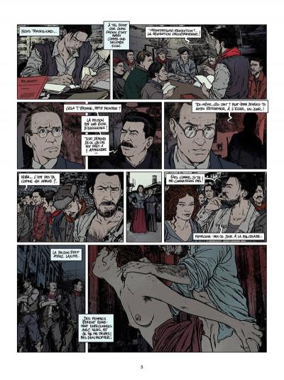 Page 6 La jeunesse de Staline tome 2 - Koba