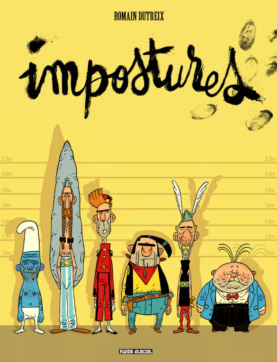 Couverture Impostures tome 1