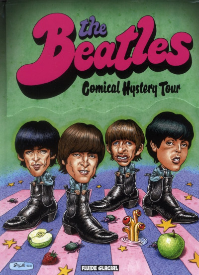 Couverture the Beatles comical hystery tour