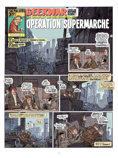 Page 3 geek war ; le conflit des générations