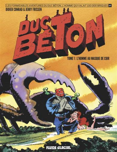image de Duc Béton tome 1 - l'homme au masque de cuir