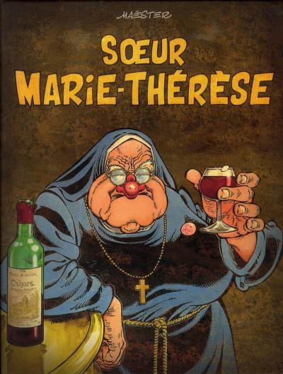 Couverture soeur Marie-Thérèse - coffret tome 1 à tome 5