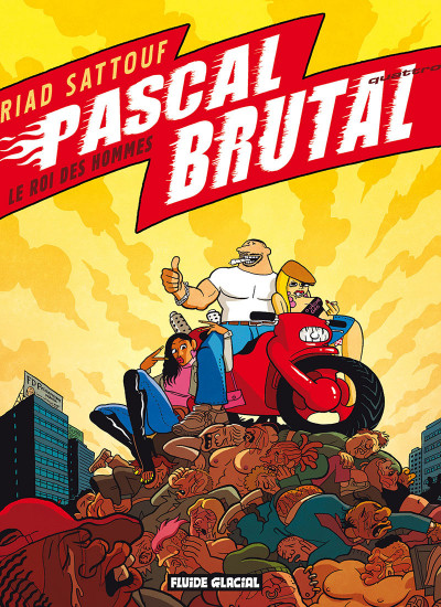 Couverture Pascal Brutal tome 4