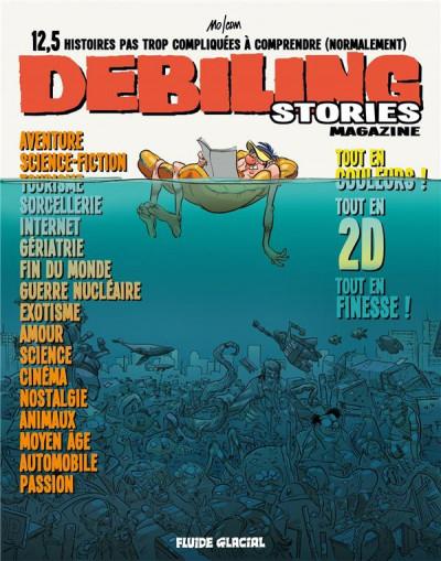 Couverture debiling stories