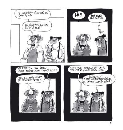 Page 5 Un deuxième jour au musée avec les Bidochon