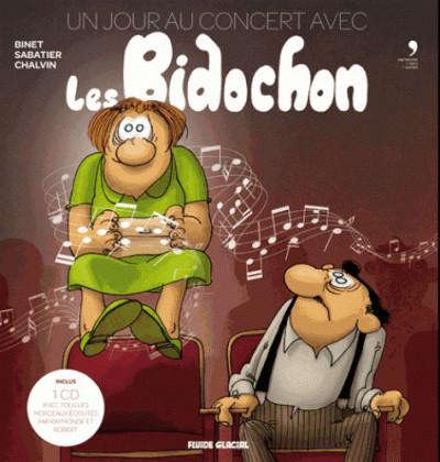 Couverture Un jour au concert avec Les Bidochon + 2 CD