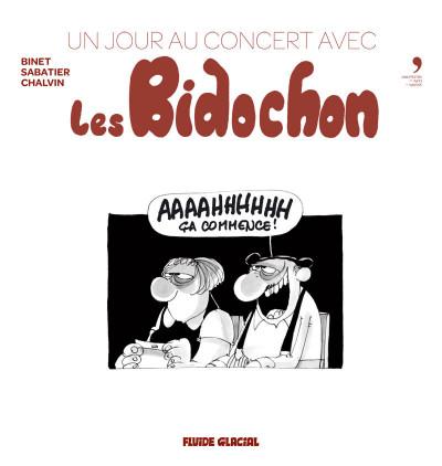 Page 2 Un jour au concert avec Les Bidochon + 2 CD