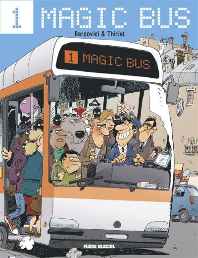 Couverture Magic bus tome 1