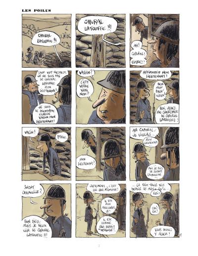 Page 2 Les poilus tome 1