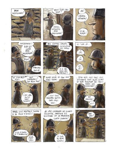 Page 3 Les poilus tome 1