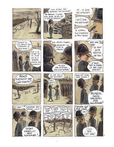 Page 4 Les poilus tome 1