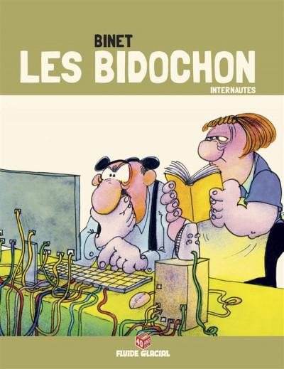 Couverture Les Bidochon - Collection platine - tome 19 - internautes