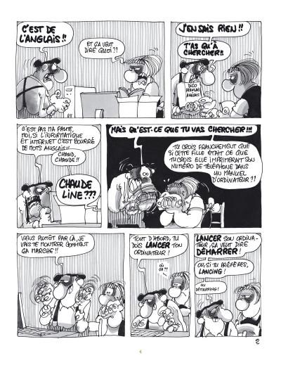 Page 4 Les Bidochon - Collection platine - tome 19 - internautes