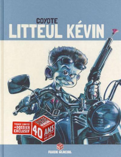 Couverture Litteul Kevin tome 3 - édition 40 ans