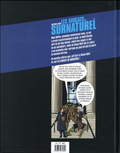 Dos Les avocats du surnaturel tome 2