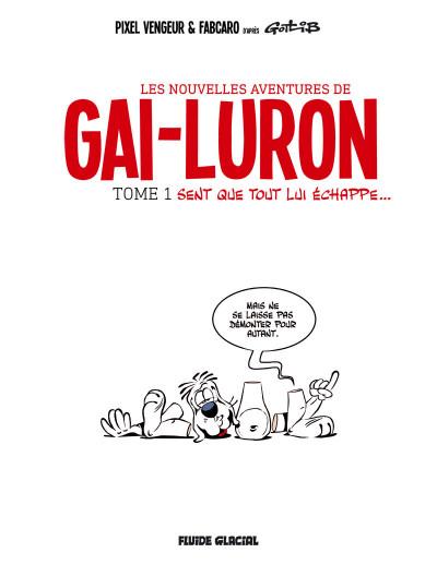 Page 2 Les nouvelles aventures de Gai-luron tome 1
