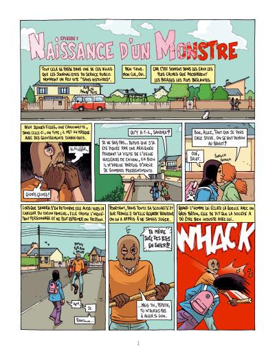 Page 3 L'homme au masque