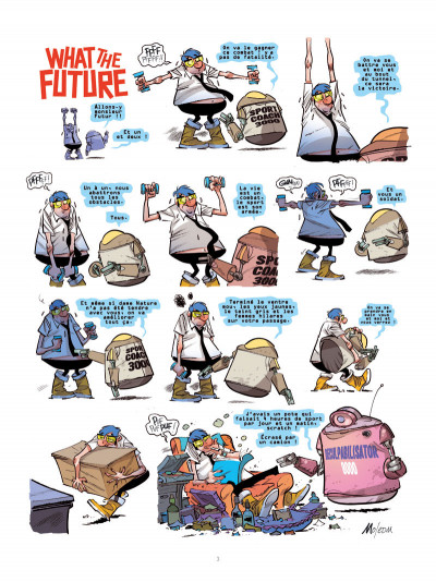 Page 3 What the future