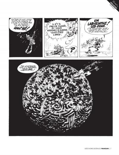 Page 5 Franquin - Il était une fois Idées noires