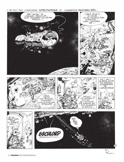 Page 6 Franquin - Il était une fois Idées noires