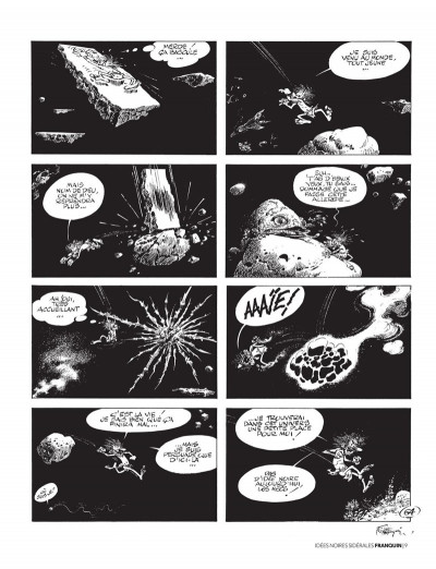 Page 7 Franquin - Il était une fois Idées noires