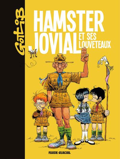 Couverture Hamster Jovial et ses louveteaux - édition 2017