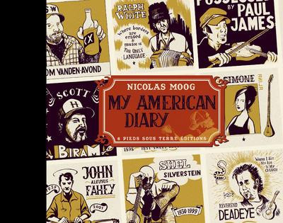 Couverture my american diary